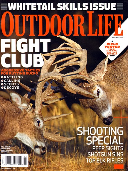 Outdoor Life Cover - 11/1/2013