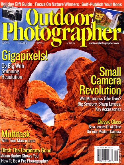Outdoor Photographer Cover - 11/1/2013
