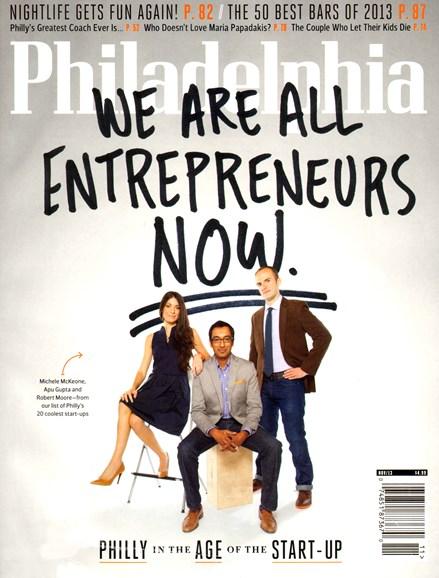 Philadelphia Magazine Cover - 11/1/2013