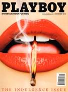 Playboy Magazine 11/1/2013