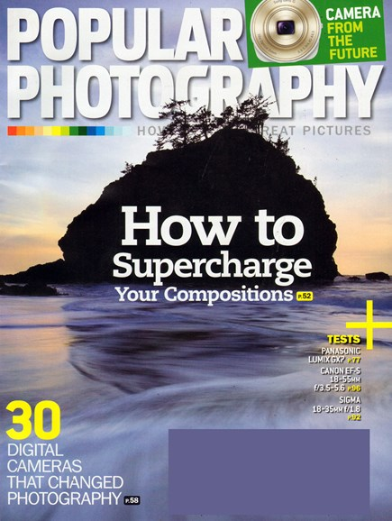Popular Photography Cover - 11/1/2013