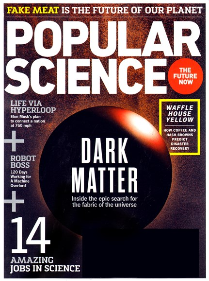 Popular Science Cover - 11/1/2013