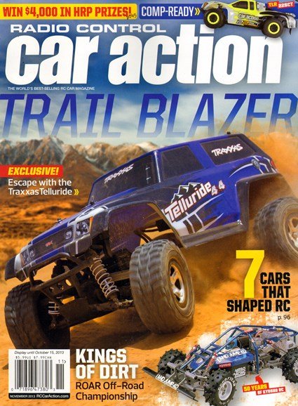 Radio Control Car Action Cover - 11/1/2013