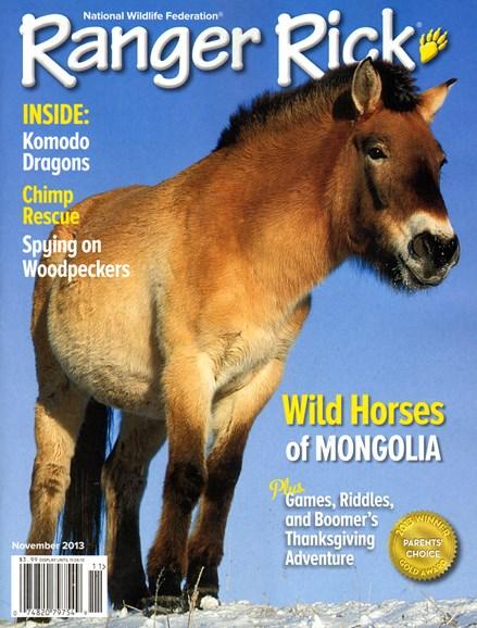 Ranger Rick Cover - 11/1/2013