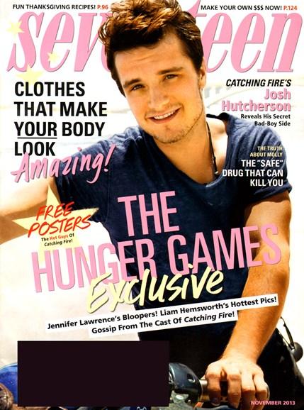 Seventeen Cover - 11/1/2013