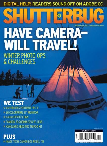 Shutterbug Cover - 11/1/2013