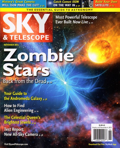 Sky & Telescope Cover - 11/1/2013