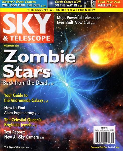 Sky & Telescope Cover - 11/1/2013