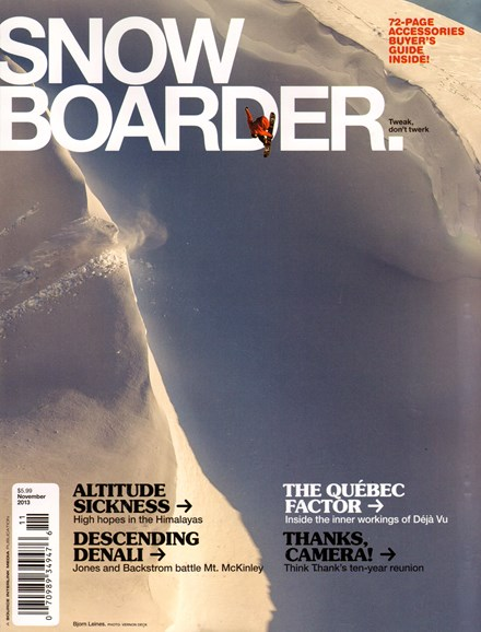 Snowboarder Cover - 11/1/2013
