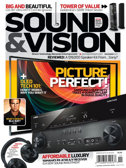 Sound & Vision Cover - 11/1/2013