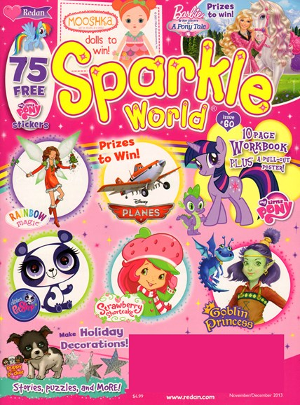 Sparkle World Cover - 11/1/2013