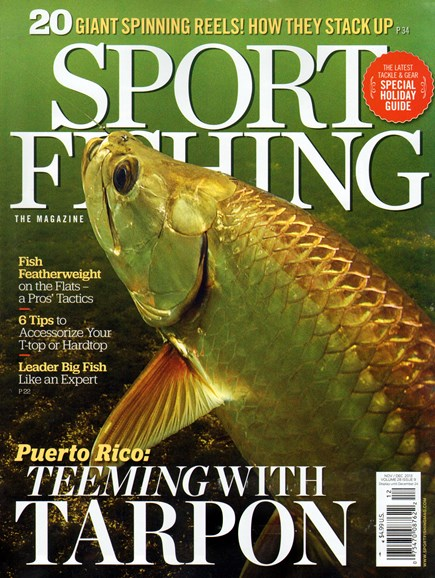 Sport Fishing Cover - 11/1/2013