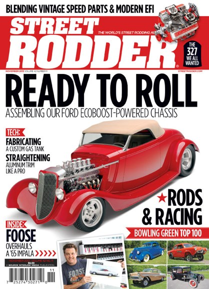 Street Rodder Cover - 11/1/2013
