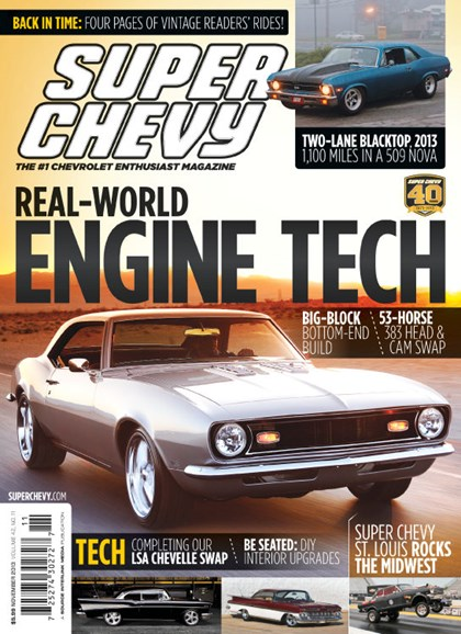 Super Chevy Cover - 11/1/2013