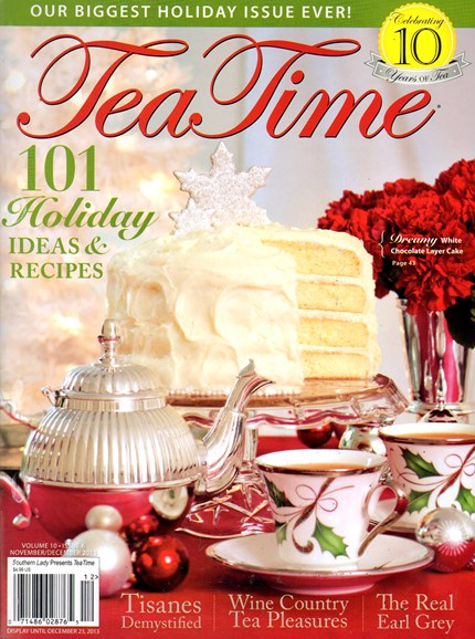Tea Time Cover - 11/1/2013