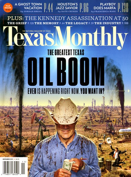 Texas Monthly Cover - 11/1/2013