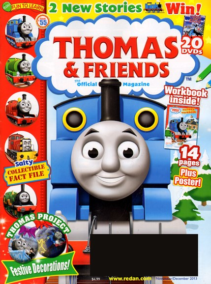 Thomas & Friends Cover - 11/1/2013