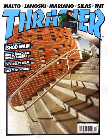 Thrasher Cover - 11/1/2013