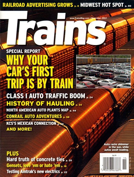 Trains Cover - 11/1/2013