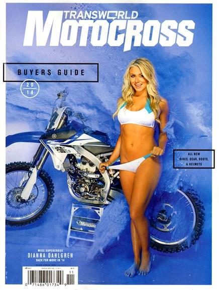 Transworld Motocross Cover - 11/1/2013