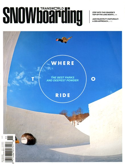 Transworld SNOWboarding Cover - 11/1/2013