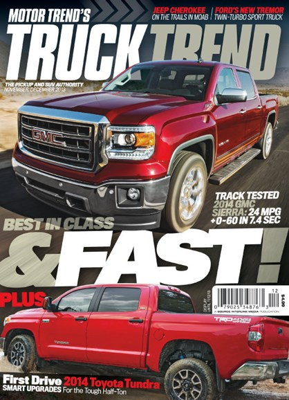 Truck Trend Cover - 11/1/2013