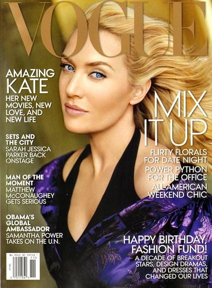 Vogue Cover - 11/1/2013