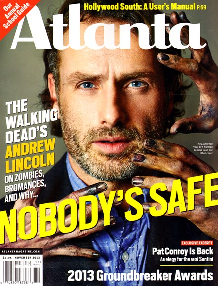 Atlanta Magazine Cover - 11/1/2013