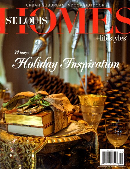 St. Louis Homes & Lifestyles Cover - 11/1/2013