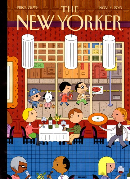 The New Yorker Cover - 11/4/2013