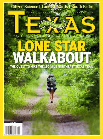 Texas Parks & Wildlife Cover - 11/1/2013