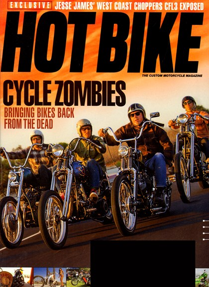 Hot Bike Cover - 11/1/2013