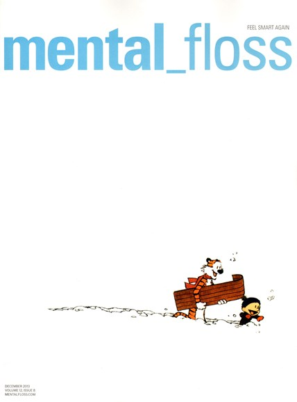Mental Floss Cover - 12/1/2013
