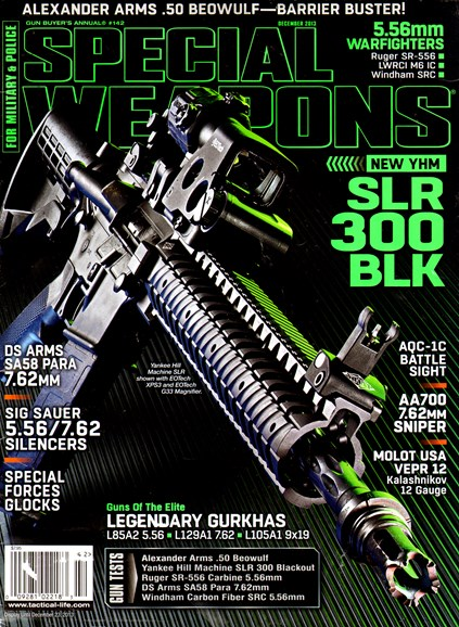 Special Weapons for Military & Police Cover - 12/1/2013