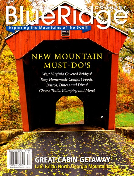 Blue Ridge Country Cover - 12/1/2013