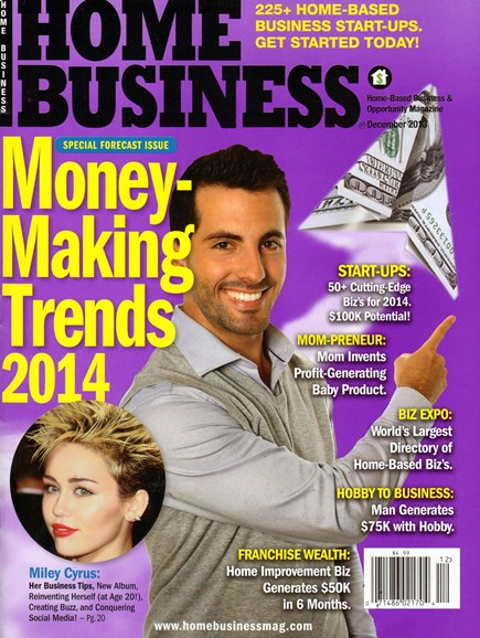 Home Business Magazine Cover - 12/1/2013