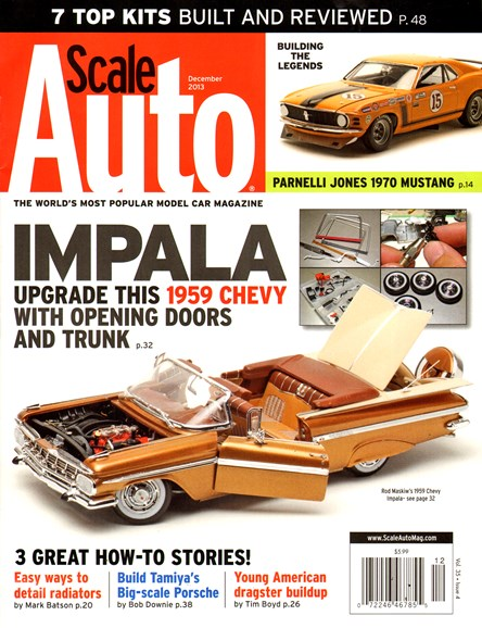 Scale Auto Magazine Cover - 12/1/2013