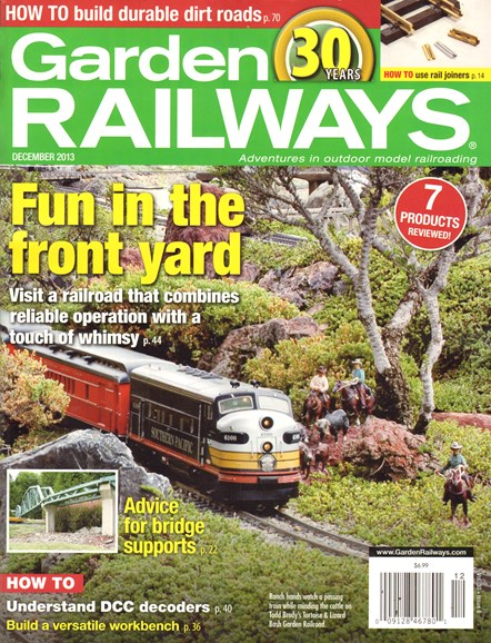 Garden Railways Cover - 12/1/2013