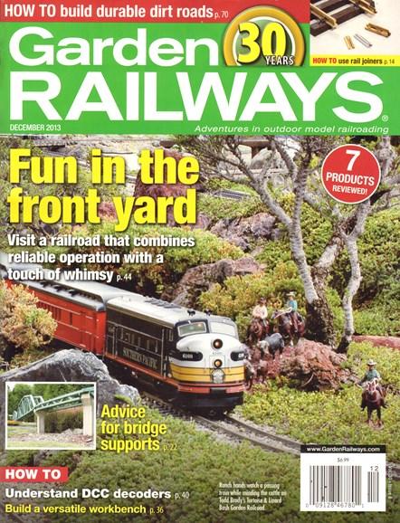 Garden Railways Cover - 12/1/2013