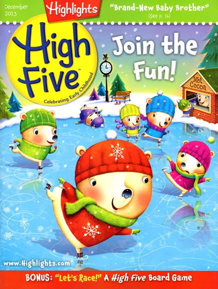 Highlights High Five Cover - 12/1/2013