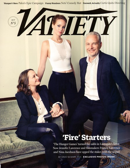 Variety Cover - 10/31/2013