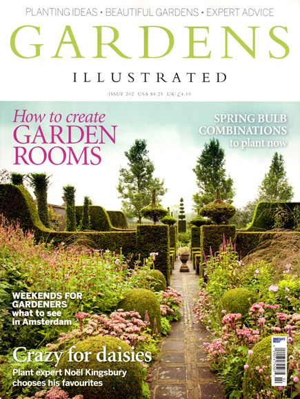 Gardens Illustrated Cover - 10/1/2013