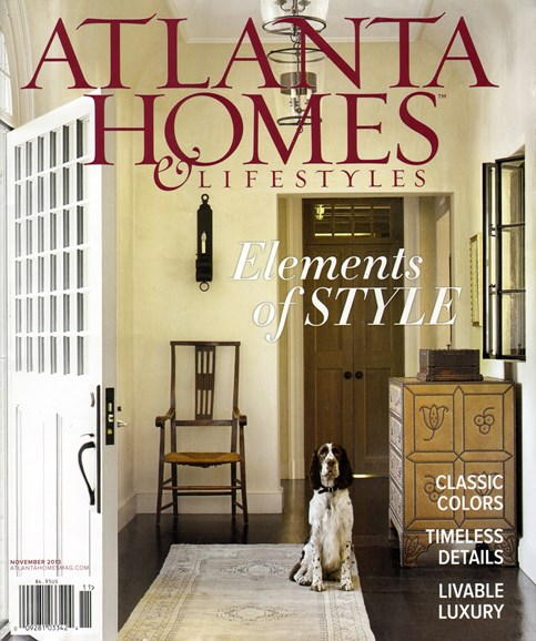 Atlanta Homes & Lifestyles Cover - 11/1/2013