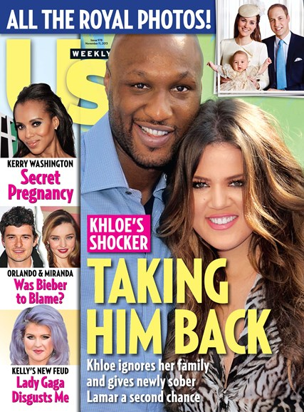 Us Weekly Cover - 11/11/2013