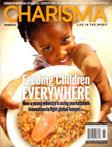 Charisma Cover - 11/1/2013