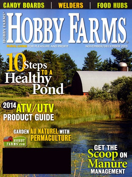 Hobby Farms Cover - 11/1/2013