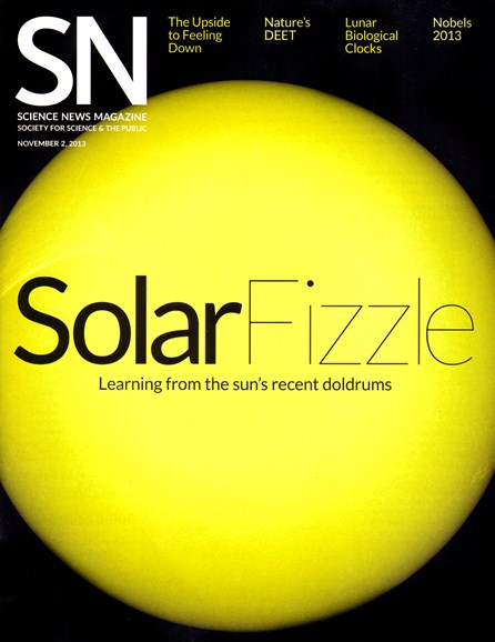 Science News Cover - 11/2/2013