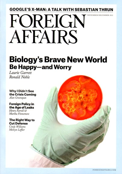 Foreign Affairs Cover - 11/1/2013
