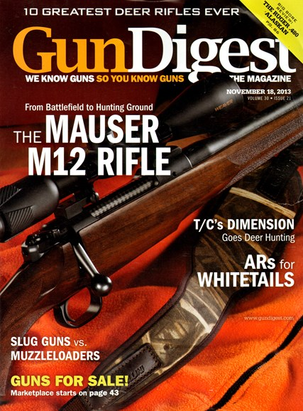 Gun Digest Cover - 11/18/2013