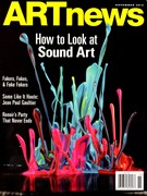 Artnews Magazine 11/1/2013
